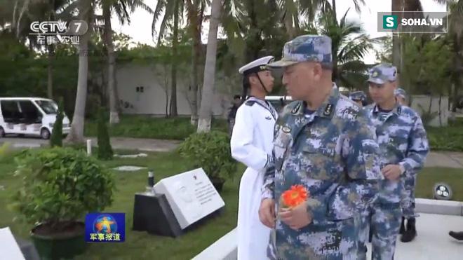 TQ bất ngờ loan tin Tư lệnh Hải quân ra Hoàng Sa, tuyên bố thông điệp chiến tranh - Ảnh 1.