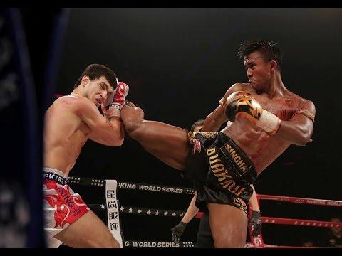 """""""Thánh Muay Thái"""" bị võ sĩ trẻ đánh tới … vỡ đầu - Ảnh 4."""