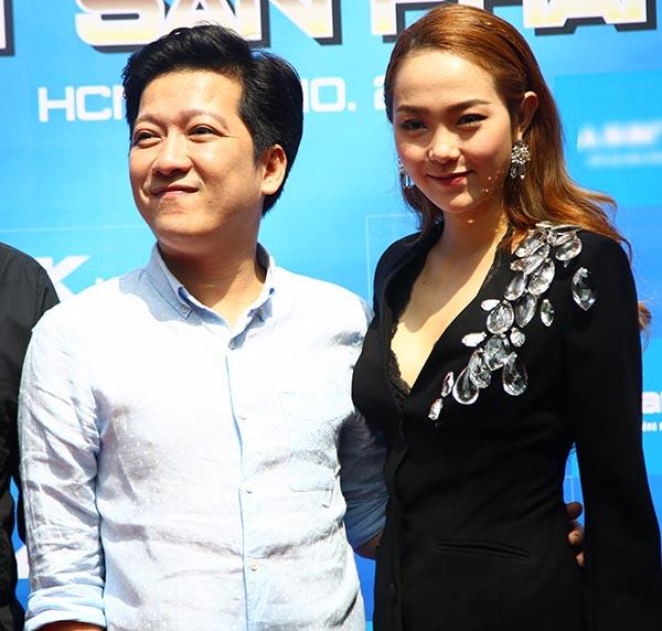 Hết kề má Thu Trang, Trường Giang lại chọc ghẹo Minh Hằng - Ảnh 4.
