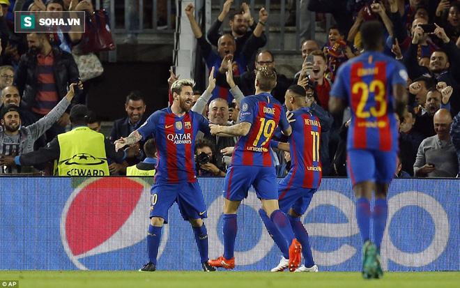 Messi vĩ đại biến thầy trò Pep Guardiola thành trò hề tại Nou Camp - ảnh 3