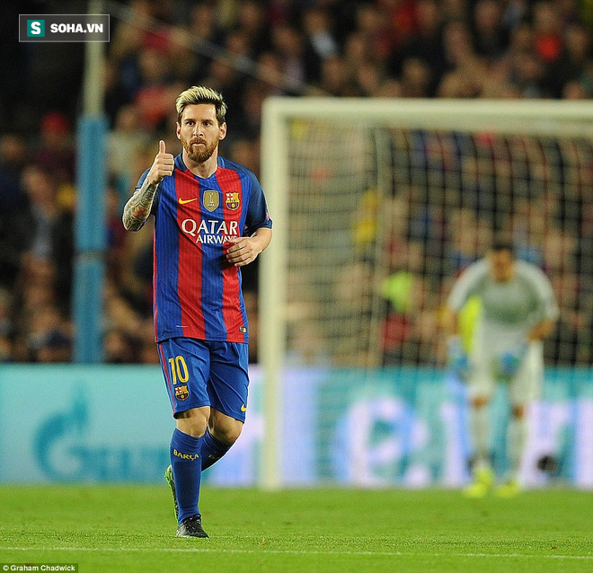 Messi vĩ đại biến thầy trò Pep Guardiola thành trò hề tại Nou Camp - ảnh 4