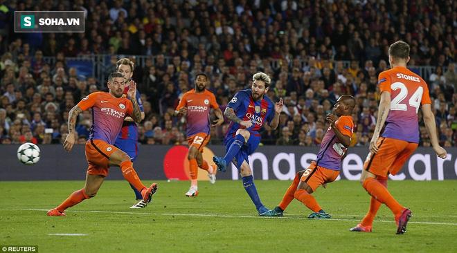 Messi vĩ đại biến thầy trò Pep Guardiola thành trò hề tại Nou Camp - ảnh 8