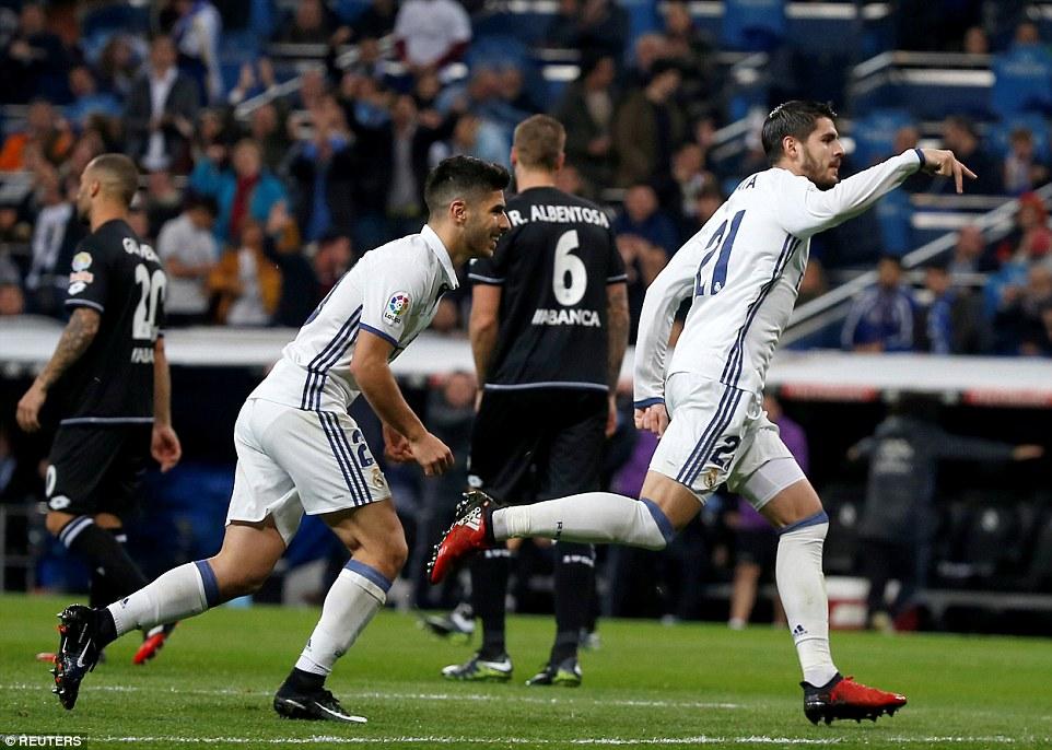 La Liga: Real Madrid 3-2 Deportivo
