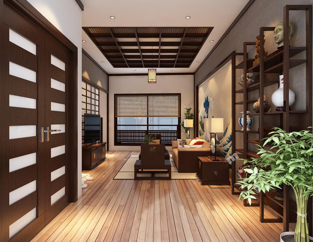 nội thất hiện đại theo phong cách Nhật Bản