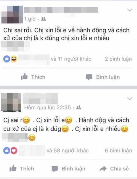 Nhóm nữ sinh đánh, lột áo bạn giữa đường rồi lên facebook xin lỗi  - Ảnh 4.