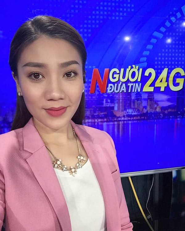 Nữ MC truyền hình Vĩnh Long có hành động gây tranh luận - Ảnh 3.