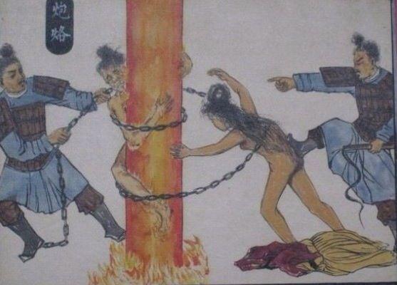 7 cực hình ghê rợn hơn cả lăng trì trong lịch sử Trung Quốc - Ảnh 4.