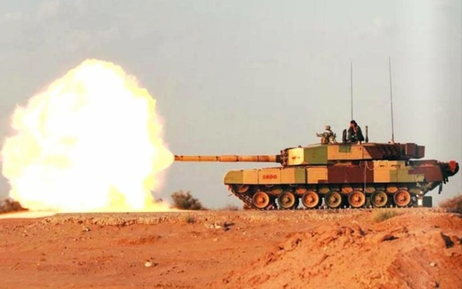 Xe tăng Arjun của Ấn Độ có đấu lại được Al Khalid của Pakistan? - Ảnh 2.