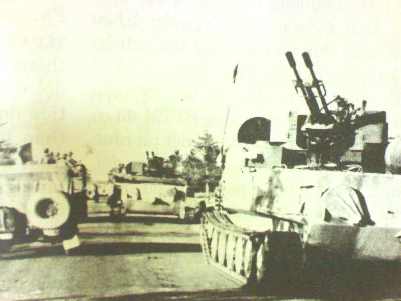 VN đưa pháo ZU-23-2 lên xe thiết giáp BTR-50: