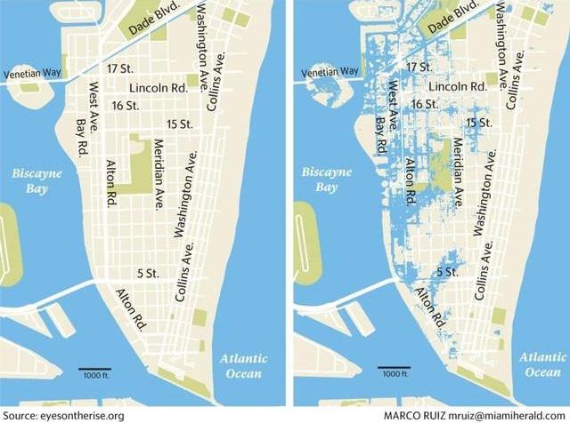 Cách chống ngập bằng bơm ly tâm của thành phố Miami - Ảnh 1.