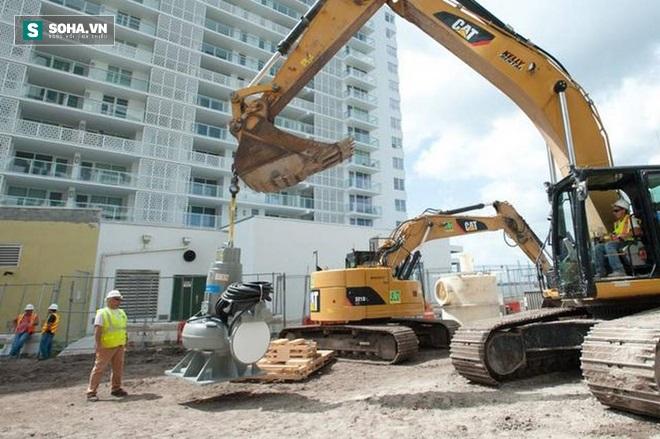 Cách chống ngập bằng bơm ly tâm của thành phố Miami - Ảnh 2.