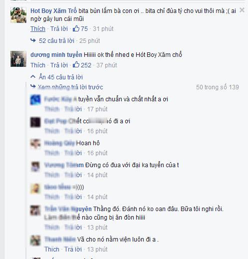 """Và như thế """"Thánh chửi"""" Dương Minh Tuyền đã làm loạn facebook - Ảnh 2."""