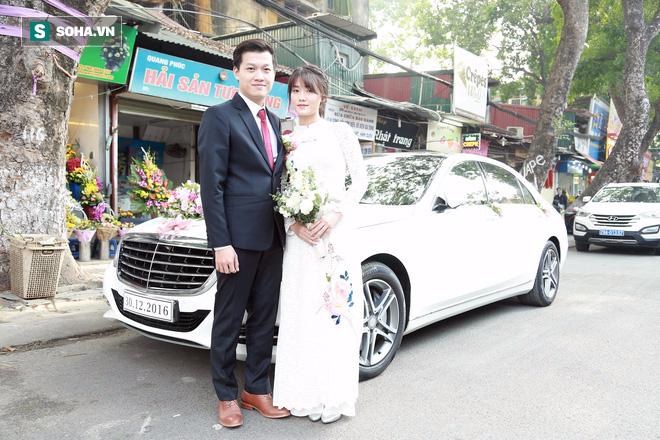 Nhan sắc lộng lẫy của vợ MC Hãy chọn giá đúng trong ngày rước dâu - Ảnh 2.