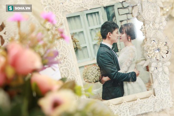 Nhan sắc lộng lẫy của vợ MC Hãy chọn giá đúng trong ngày rước dâu - Ảnh 3.