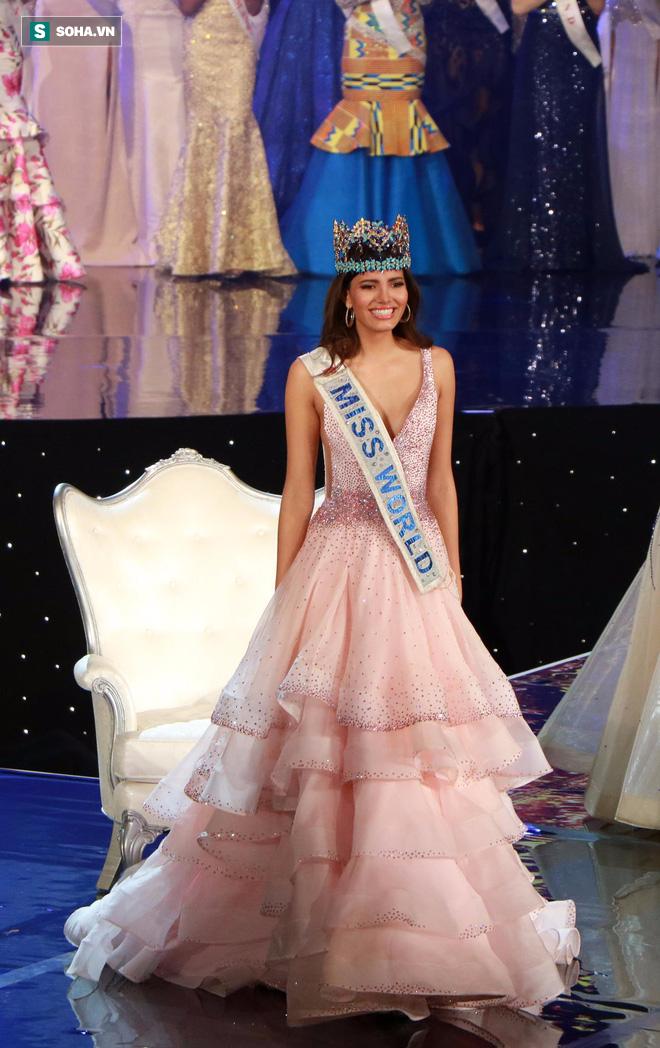 Cận cảnh nhan sắc của cô gái vừa đăng quang Hoa hậu Thế giới 2016 - Ảnh 1.