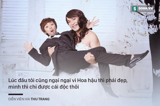 Danh hài Thu Trang: Nổi tiếng vẫn đi làm công và bị ăn hiếp! - Ảnh 2.