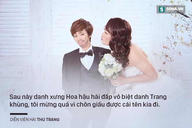 Danh hài Thu Trang: Nổi tiếng vẫn đi làm công và bị ăn hiếp! - Ảnh 4.