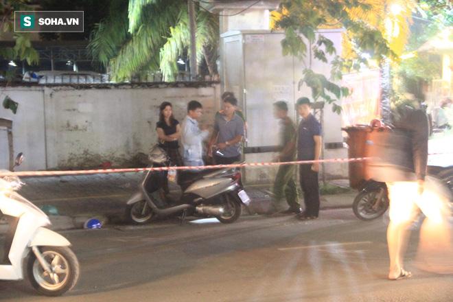 Chở bạn gái va chạm trên đường Sài Gòn, rút dao chém 4 người thương vong - Ảnh 1.