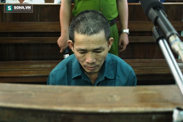 Hung thủ giết người, khiến ông Nén ngồi tù oan bật khóc tại tòa - Ảnh 1.