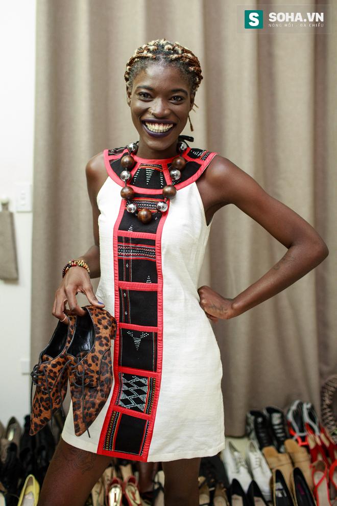 Cuộc sống mưu sinh của người mẫu Châu Phi tại Việt Nam - Ảnh 3.