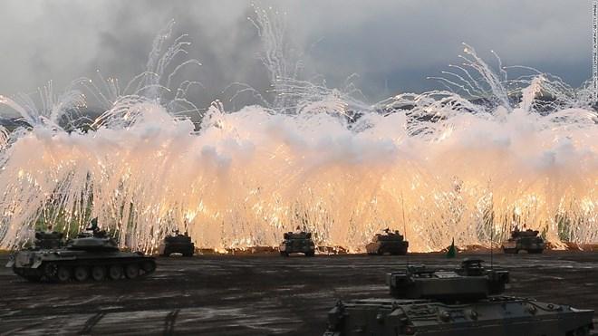 Chuyên gia: Nhật Bản là cường quốc quân sự hàng đầu thế giới - Ảnh 1.