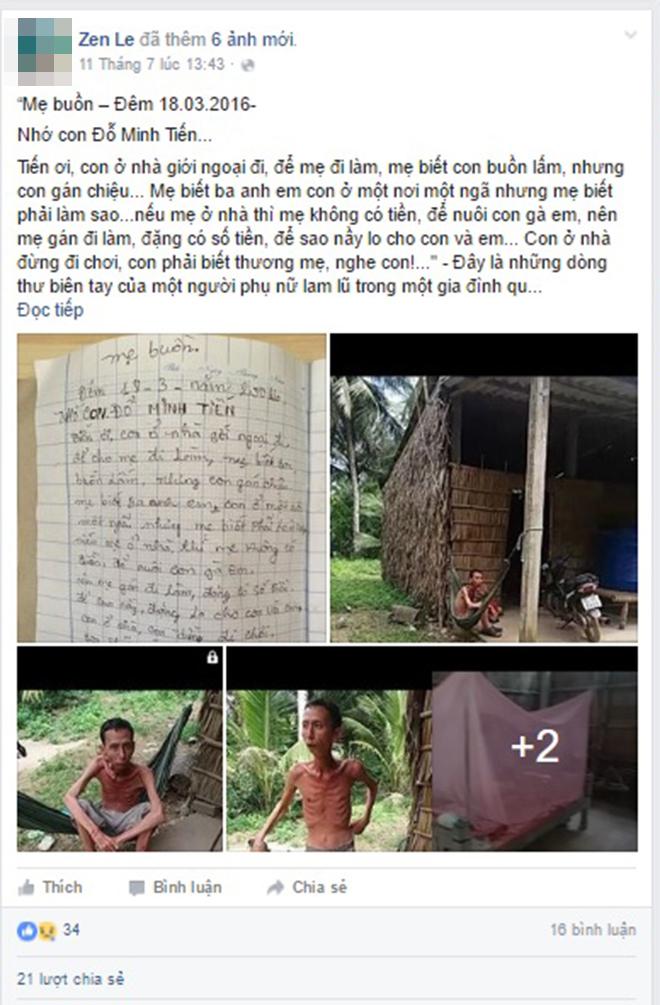 Xúc động với lá thư sai đầy lỗi chính tả của người mẹ gửi cho con - Ảnh 1.