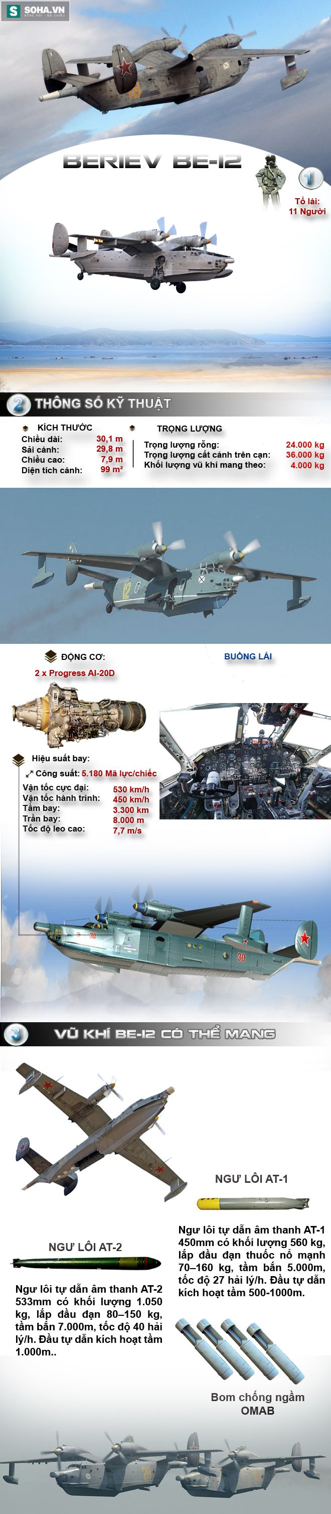 Sát thủ tàu ngầm một thời của Không quân Hải quân Việt Nam - Ảnh 1.