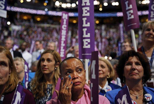 Toàn văn phát biểu của bà Obama tại đại hội đảng Dân chủ - Ảnh 1.