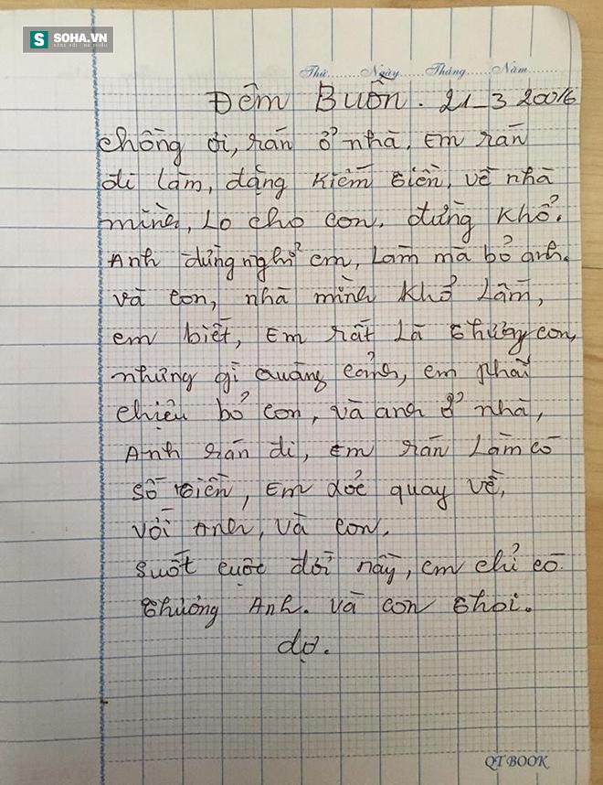 Xúc động với lá thư sai đầy lỗi chính tả của người mẹ gửi cho con - Ảnh 4.
