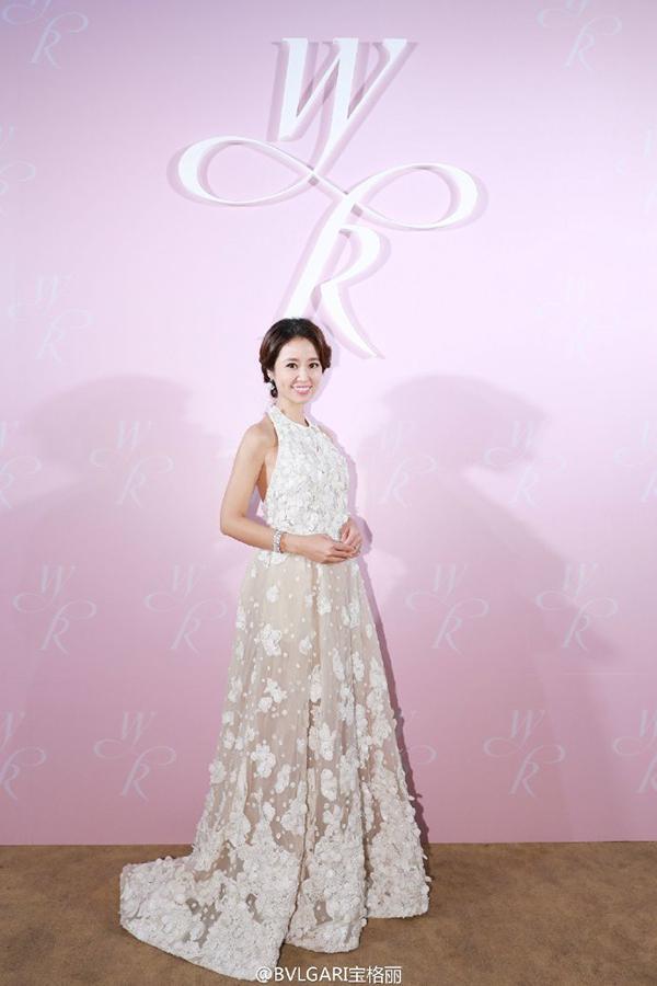 1 tỷ đô la Hồng Kông là giá trị số nữ trang Lâm Tâm Như đeo trong hôn lễ - Ảnh 1.