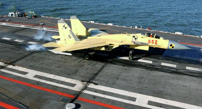 Trung Quốc khoe khả năng mới của tàu sân bay Liêu Ninh vừa nâng cấp - Ảnh 1.