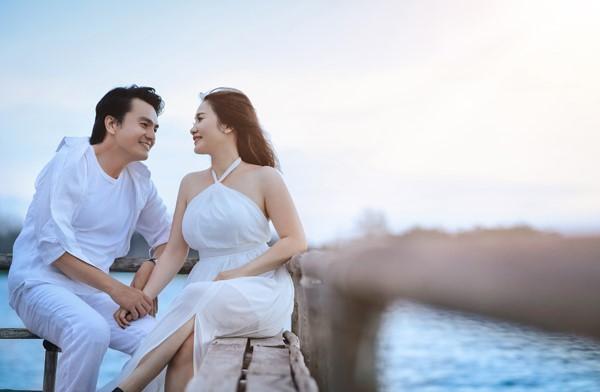 Ảnh cưới lãng mạn của diễn viên Cao Minh Đạt - Ảnh 2.