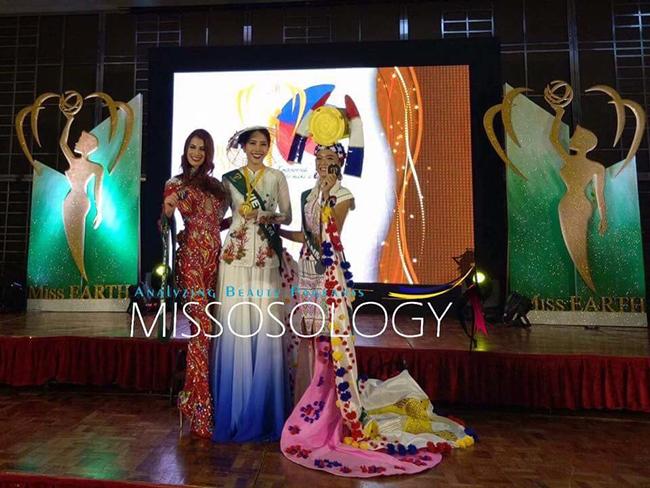 Sau hai lần về nhì, Nam Em vươn lên giành một huy chương vàng tại Miss Earth 2016 - Ảnh 1.
