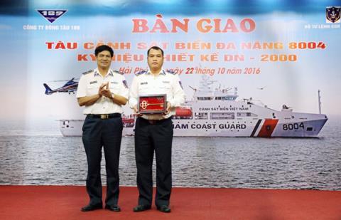 Trực thăng trang bị cho tàu CSB 8004 - Ảnh 1.