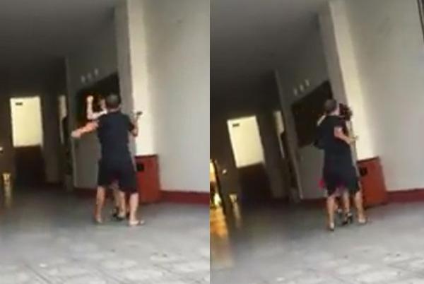Bắt gặp vợ vào khách sạn để... uống cafe với trai lạ, chồng tức giận tóm tóc, đánh  - Ảnh 4.