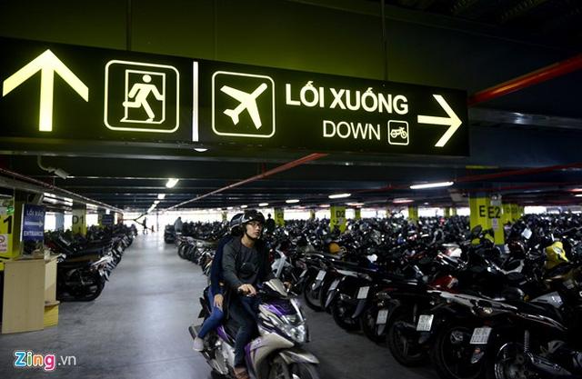 Nhà để xe 5 sao ở sân bay Tân Sơn Nhất - Ảnh 2.