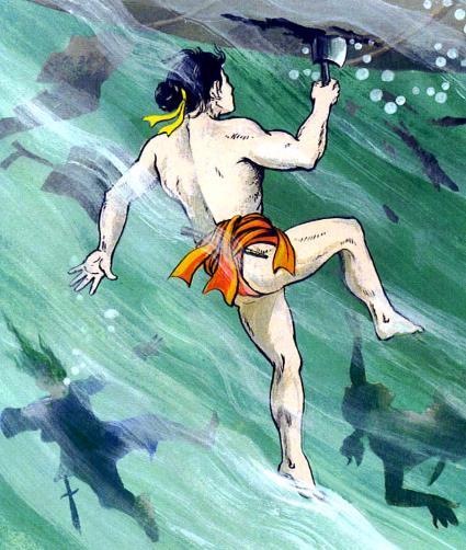 Những đặc công nước có biệt tài bơi lặn không kém gì danh tướng Yết Kiêu - Ảnh 2.