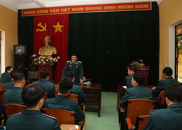 Tư lệnh Quân chủng kiểm tra Trung đoàn 257 - Ảnh 2.