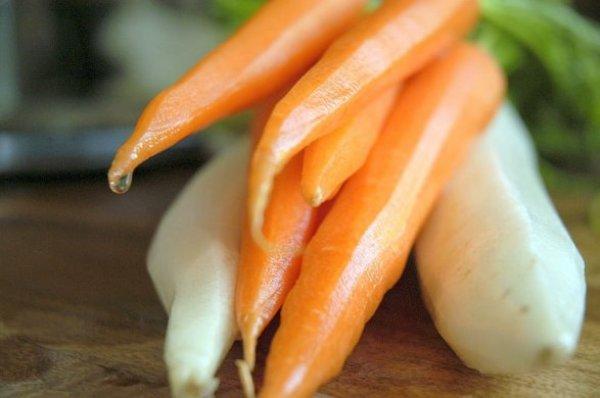 Chớ dại ăn củ cải nhân sâm trắng mùa đông với những loại này - Ảnh 2.