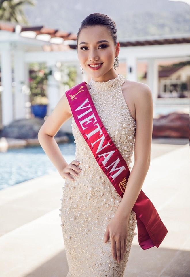 Người đẹp Hà Lan đăng quang Hoa hậu châu Á Thái Bình Dương - Ảnh 1.