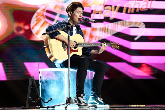 Sing My Song: Hot boy 16 tuổi khiến 4 giám khảo cuống cuồng giành giật vì sáng tác gây nghiện! - Ảnh 3.