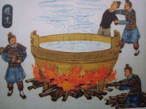 Chuyện có thật trong lịch sử Việt Nam: Tội phạm bị ném vào vạc dầu, cho hổ ăn thịt - Ảnh 2.