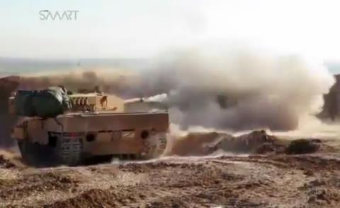 Thổ Nhĩ Kỳ choáng váng: Tên lửa TOW của khủng bố nướng 3 xe tăng Leopard 2A4 trong 2 ngày  - Ảnh 1.