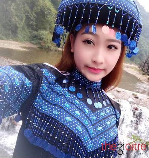 Hot girl xứ Mường xinh đẹp thu hút chục ngàn lượt theo dõi - Ảnh 1.