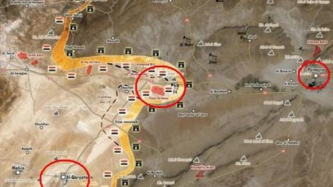 Palmyra-T4: Quân đội Syria phản công lớn, chờ tăng viện lật ngược tình thế  - Ảnh 1.