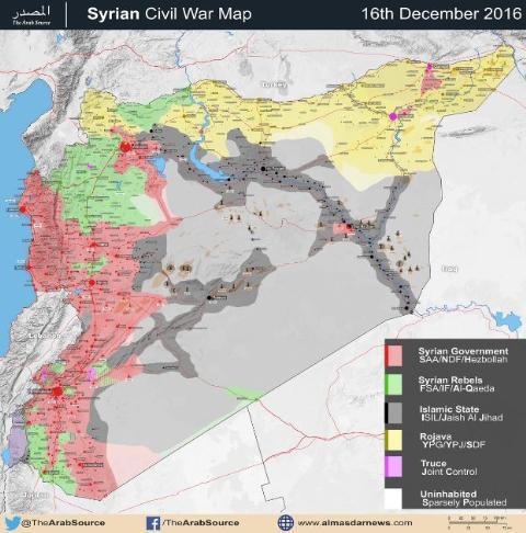Toàn cảnh chiến trường Syria 2016: Khởi sắc nhưng vẫn lo âu  - Ảnh 2.