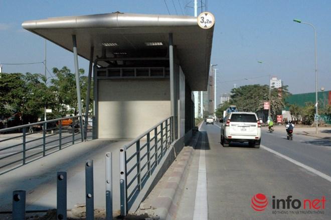 Những xe nào bị cấm trên tuyến đường xe buýt nhanh của Thủ đô? - Ảnh 1.