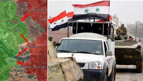 Tổng quan chiến dịch giải phóng Tây Aleppo, vây hãm Idlib  - Ảnh 1.