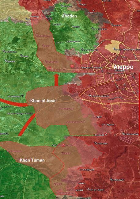 Tổng quan chiến dịch giải phóng Tây Aleppo, vây hãm Idlib  - Ảnh 2.