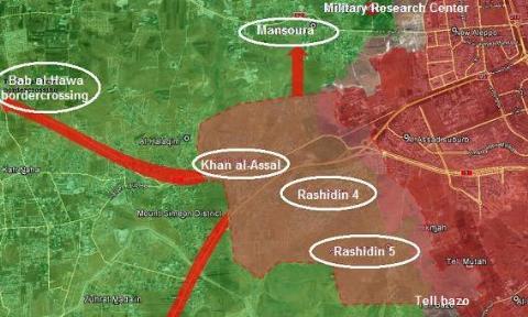 Tổng quan chiến dịch giải phóng Tây Aleppo, vây hãm Idlib  - Ảnh 4.